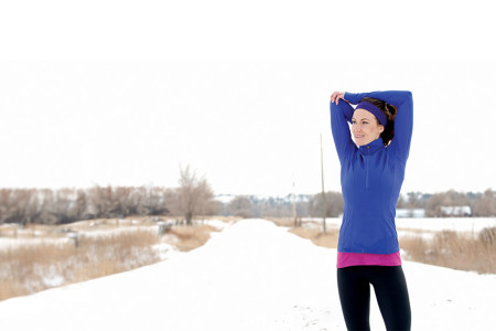 Heating up cold-weather workouts