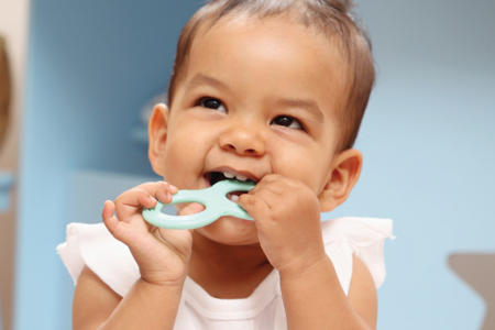 Teething tots: finding relief