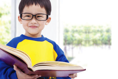 Start early on vision testing for kids