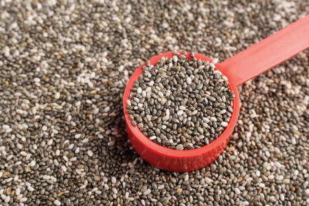 Chia seeds for the sweet tooth