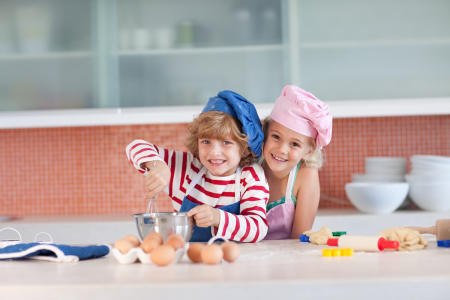 Learning to stir: Teaching children to cook