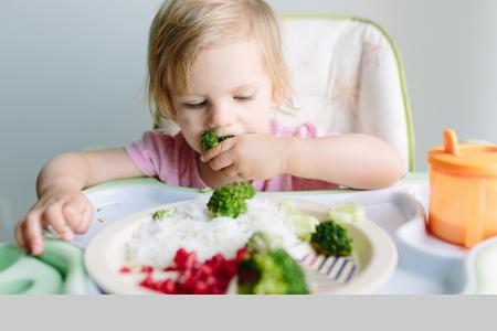 Getting more greens in your young child's diet