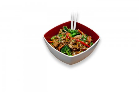 Ginger stir-fry chicken