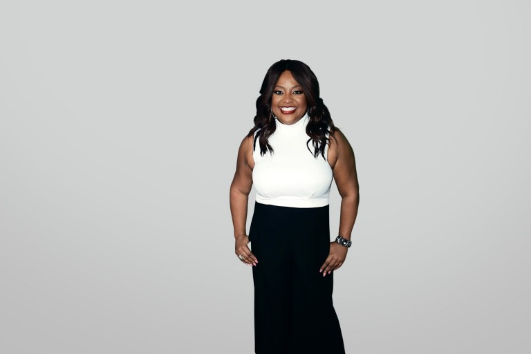 Sherri Shepherd: A spoonful of comedy