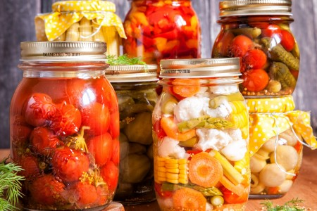 Capture the benefits of homegrown produce by canning at home