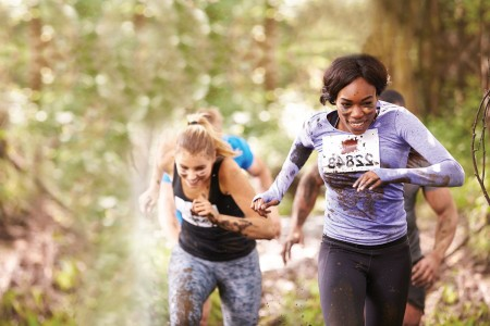 Charge through barriers for your first obstacle race